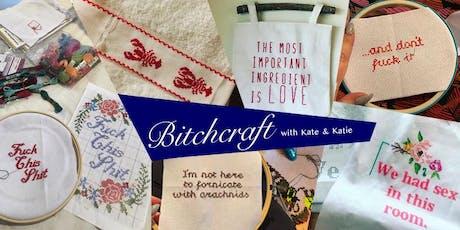 Bitchcraft Cross Stitch Sunday tickets