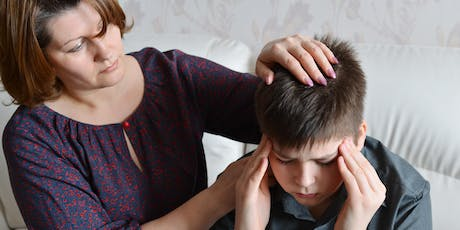 Concussion, migraine and post traumatic headache in children and teenagers tickets