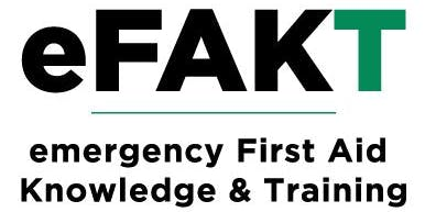 First Aid Course - Emergency First Response (inc CPR & Defibrillator training) - eFAKT