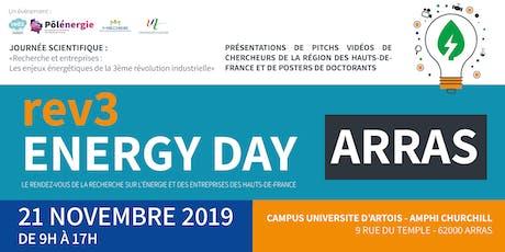 Recherche et entreprises :  les enjeux énergétiques de la Troisième révolution industrielle - Une manifestation des « rev3 energy days » et d'unirev3 billets
