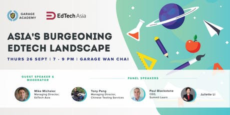 Asia's Burgeoning EdTech Landscape tickets
