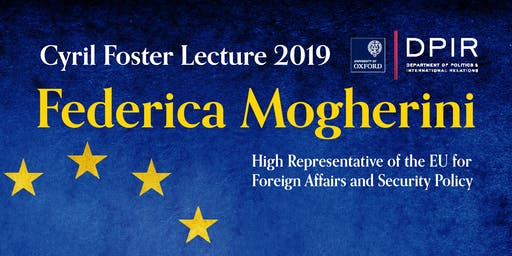 Cyril Foster Lecture 2019