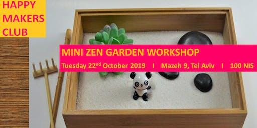 Mini Zen Garden Workshop