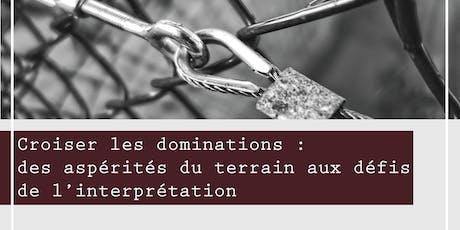 Journée d'étude - Croiser les dominations - ENS de Lyon billets