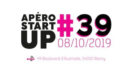 Apéro Startup #39 - Le Paddock - Octobre 2019 billets