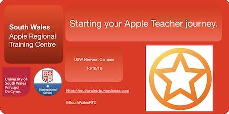 Starting your Apple Teacher journey tickets