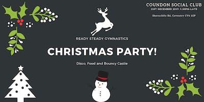Ready Steady Gymnastics- Christmas Party