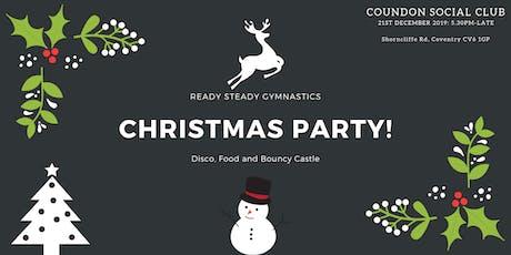 Ready Steady Gymnastics- Christmas Party tickets