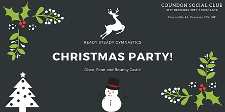 Ready Steady Gymnastics- Christmas Party tickets