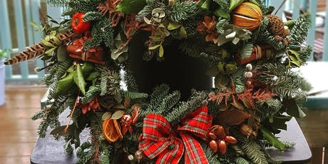 Christmas wreath making workshop at Nest! tickets