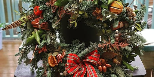 *Second date added!* Christmas wreath making workshop at Nest!