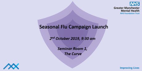 Seasonal Flu Campaign Launch tickets