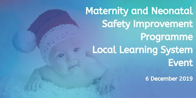 Maternity and Neonatal Safety Improvement Programme Local Learning System