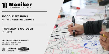 Doodle Sessions with Creative Debuts at Moniker Art Fair tickets
