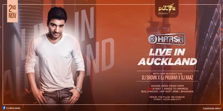 Dj Harsh Bhutani Live in Auckland tickets