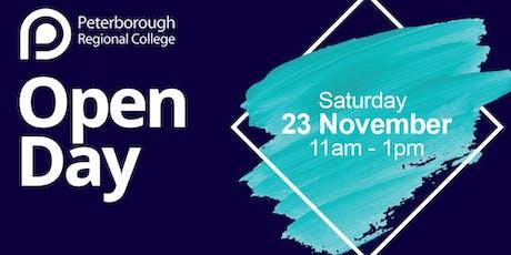PRC Open Day - Saturday 23rd November 2019 (11am - 1pm) tickets