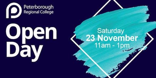 PRC Open Day - Saturday 23rd November 2019 (11am - 1pm)