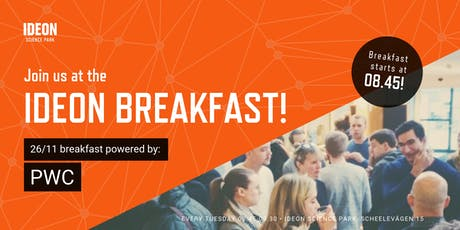 Ideon Breakfast - Powered by PWC tickets