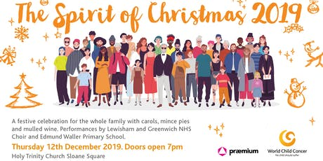 The Spirit of Christmas 2019 tickets