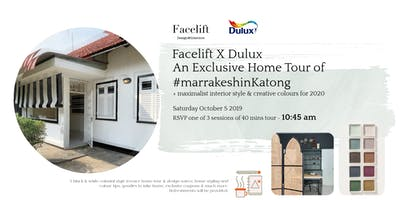 DULUX x FACELIFT DESIGN: #MarrakeshinKatong Exclusive Home Tour (Session 2)