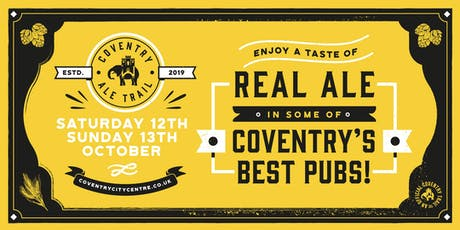 Coventry Ale Trail tickets