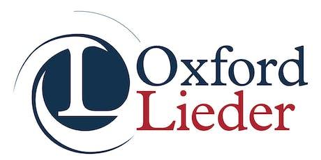OXFORD LIEDER AT FAIRLIGHT HALL: Anna Cavaliero (soprano) tickets