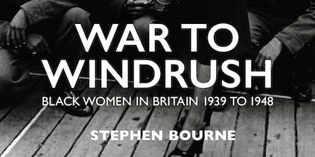 Author in Conversation: Stephen Bourne – Windrush Women tickets