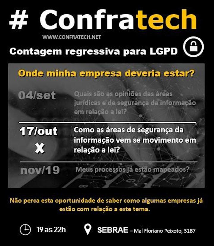 Imagem do evento Contagem regressiva para LGPD - Onde minha empresa deveria estar?
