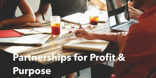 Partnerships for Profit & Purpose Workshops