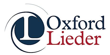 OXFORD LIEDER AT FAIRLIGHT HALL: Tristan Hambleton (bass-baritone) tickets