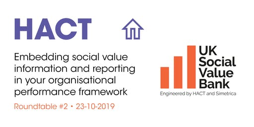 Embedding social value information in your performance framework