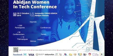Abidjan Women In Tech Conf billets