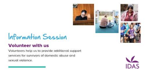 Information Session IDAS Uni of York Volunteers