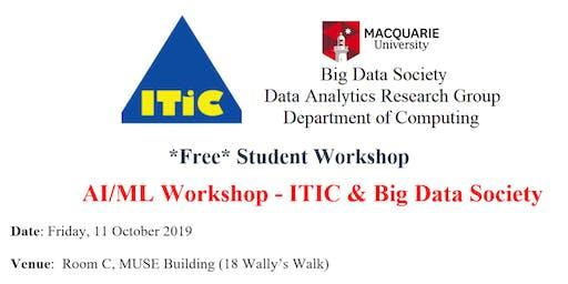 AI/ML  Workshop - ITIC & Big Data Society