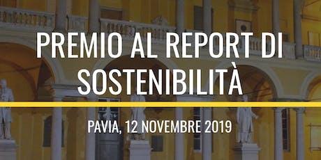 Premio Report di Sostenibilità biglietti