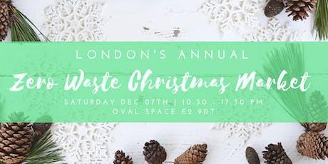 London's Annual Zero Waste Christmas Market tickets