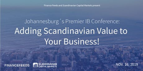 Johannesburg´s Premier IB Conference: Adding Scandinavian Value to Your Bus tickets