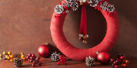 Christmas Wreath Upcycling Workshop  tickets