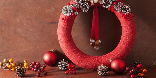 Christmas Wreath Upcycling Workshop