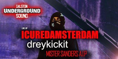 ICuredAmsterdam - Underground Sound Presents tickets