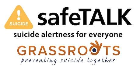 safeTALK: Suicide Alertness For Everyone tickets