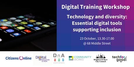 Technology and diversity: Essential digital tools supporting inclusion tickets