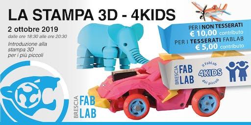 La stampa 3D - 4Kids