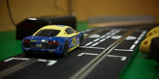 Scalextric Racing Afternoon with the Grape Variety