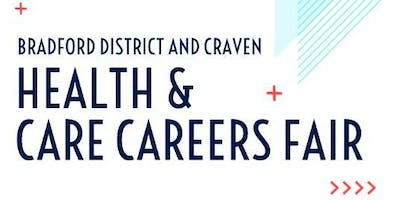 POSTPONED UNTIL 2020 Bradford district and Craven health and care careers fair