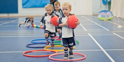 FREE Rugbytots taster sessions for 2-3.5yr olds