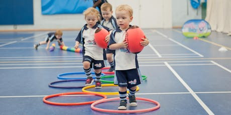 FREE Rugbytots taster sessions for 2-3.5yr olds tickets