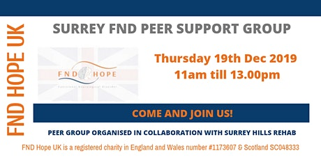 Surrey FND Support Group tickets