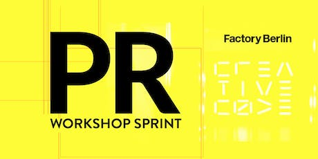 PR Workshop Sprint - How to gain press coverage for your startup tickets
