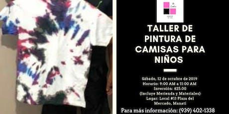 Taller: Pintura de Camisas para Niños tickets